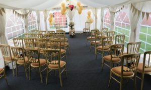 50th wedding anniversary marquee