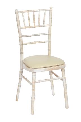 Chivari white chair