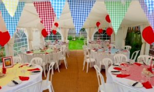 6m x 8m marquee