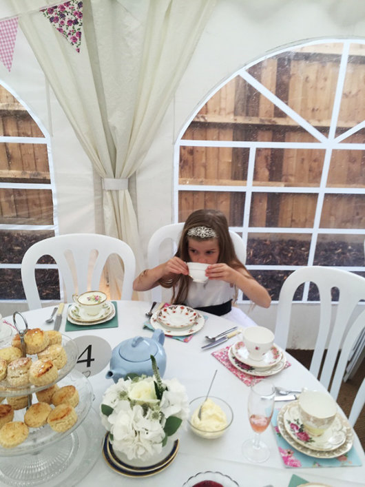 tea party marquee